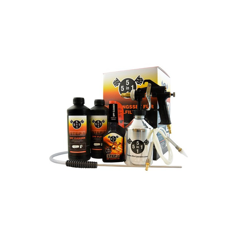 5in1power DPF Cleaning kit